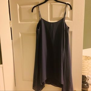 BCBGeneration Blue Dress with Low Back